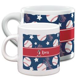 Baseball Espresso Cups (Personalized)