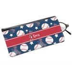 Baseball Genuine Leather Eyeglass Case (Personalized)