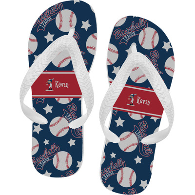 Baseball Flip Flops (Personalized)