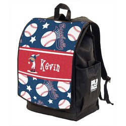 Baseball Backpack w/ Front Flap  (Personalized)