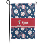 Baseball Garden Flag - Single or Double Sided (Personalized)