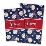 Baseball Golf Towel - Full Print w/ Name or Text