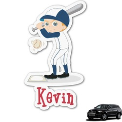 Baseball Graphic Car Decal (Personalized)