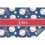 Baseball Indoor / Outdoor Rug (Personalized)