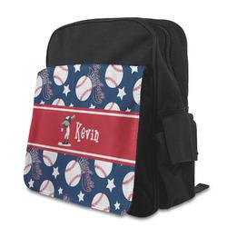 Baseball Preschool Backpack (Personalized)