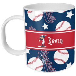 Baseball Plastic Kids Mug (Personalized)