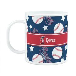 Baseball Plastic Kids Mug (Personalized)