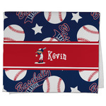 Baseball Kitchen Towel - Full Print (Personalized)