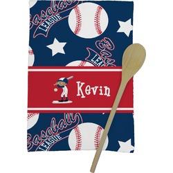 Baseball Kitchen Towel - Full Print (Personalized)