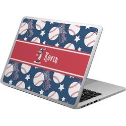 Baseball Laptop Skin - Custom Sized (Personalized)