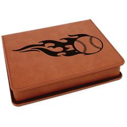 Baseball Leatherette 4-Piece Wine Tool Set (Personalized)