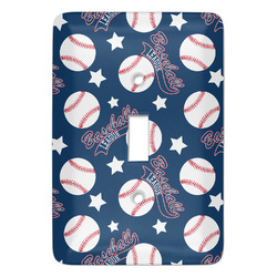 Baseball Light Switch Covers - Multiple Toggle Options Available (Personalized)