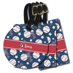 Baseball Plastic Luggage Tags (Personalized)