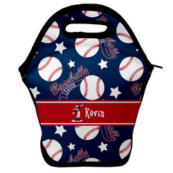 Baseball Lunch Bag w/ Name or Text