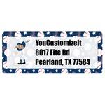 Baseball Return Address Labels (Personalized)