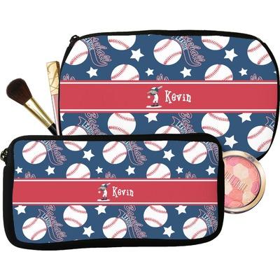 Baseball Makeup / Cosmetic Bag (Personalized)