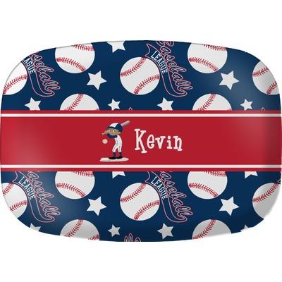 Baseball Melamine Platter (Personalized)