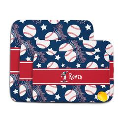Baseball Memory Foam Bath Mat (Personalized)
