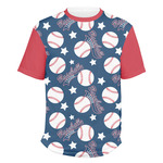 Baseball Men's Crew T-Shirt (Personalized)