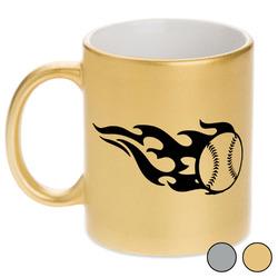 Baseball Metallic Mug (Personalized)