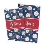 Baseball Microfiber Golf Towel (Personalized)