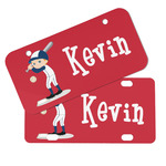 Baseball Mini/Bicycle License Plates (Personalized)