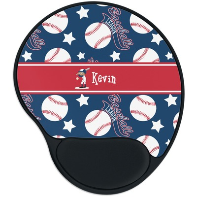 Baseball Mouse Pad with Wrist Support