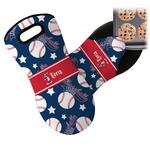 Baseball Neoprene Oven Mitt (Personalized)