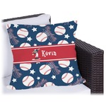 Baseball Outdoor Pillow (Personalized)