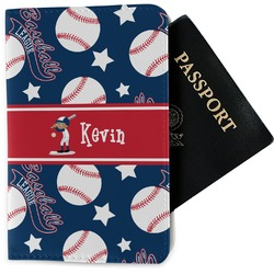 Baseball Passport Holder - Fabric (Personalized)