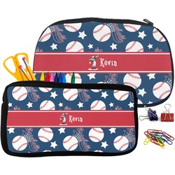 Baseball Pencil / School Supplies Bag (Personalized)