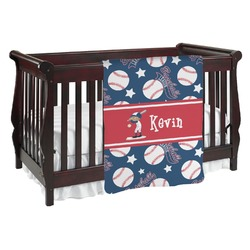 Baseball Baby Blanket (Personalized)