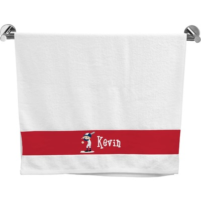 Baseball Bath Towel (Personalized)