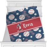 Baseball Minky Blanket (Personalized)