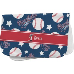 Baseball Burp Cloth (Personalized)