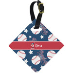 Baseball Diamond Luggage Tag (Personalized)