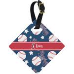 Baseball Diamond Luggage Tag (Personalized)