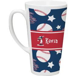 Baseball Latte Mug (Personalized)