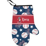 Baseball Right Oven Mitt (Personalized)