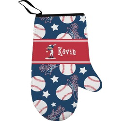 Baseball Oven Mitt (Personalized)