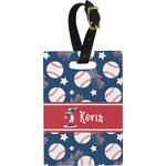 Baseball Rectangular Luggage Tag (Personalized)