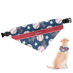 Baseball Dog Bandana - Large (Personalized)