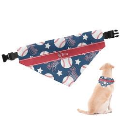 Baseball Dog Bandana (Personalized)