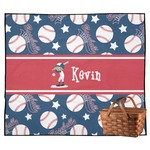 Baseball Outdoor Picnic Blanket (Personalized)