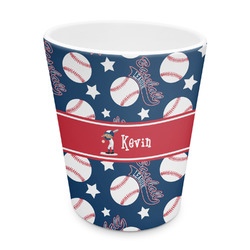 Baseball Plastic Tumbler 6oz (Personalized)