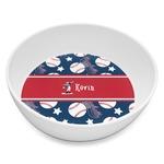 Baseball Melamine Bowl 8oz (Personalized)