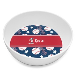 Baseball Melamine Bowl - 8 oz (Personalized)