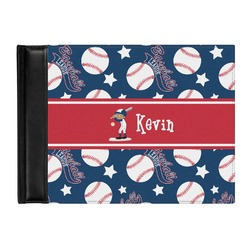 Baseball Genuine Leather Guest Book (Personalized)