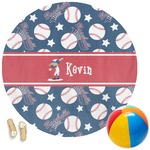 Baseball Round Beach Towel (Personalized)