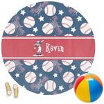 Baseball Round Beach Towel (Personalized)